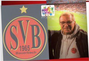HAPPY BIRTHDAY @Edmund Euker @ Waldstadion Bauerbach